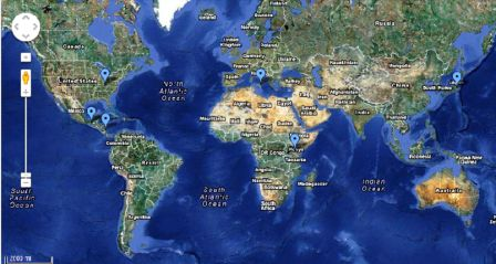 Missionaries Map