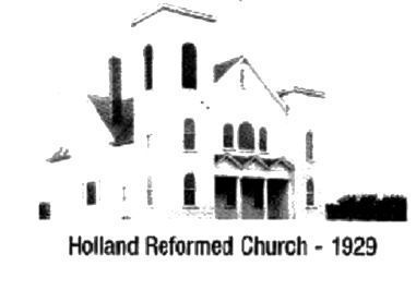 Holland Reformed Church- 1929